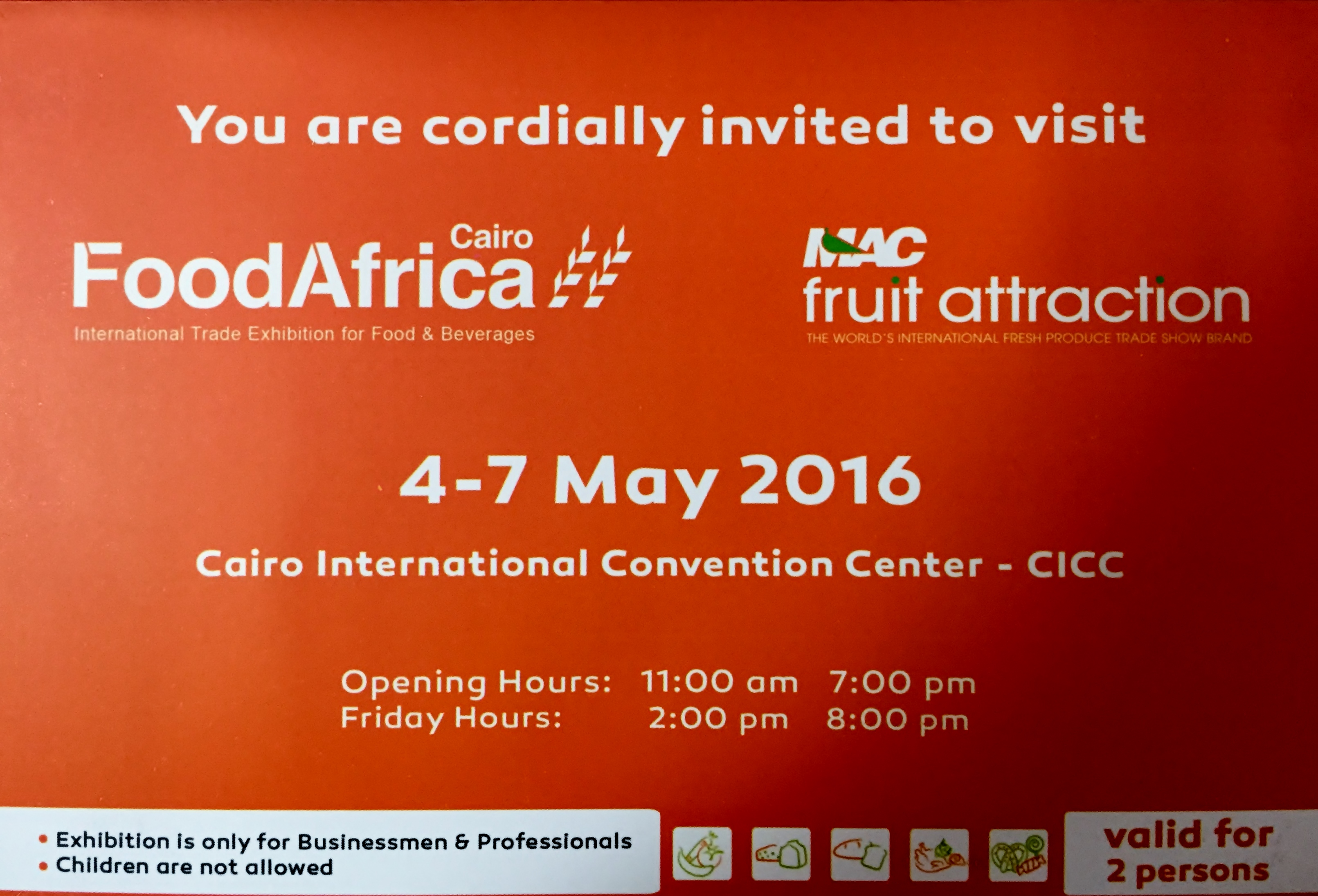 Bi technologies food africa 2016 exhibition invitation food africa 2016 exhibition invitation stopboris Choice Image